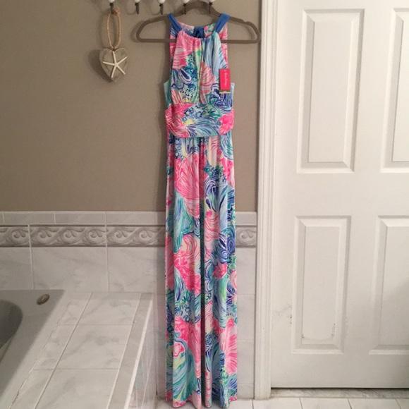 2898b47283 Lilly Pulitzer Dresses | Martina Maxi Dress Size Xs Nwt | Poshmark